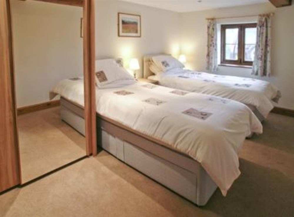 Twin bedroom at The Old Cattle Stall,