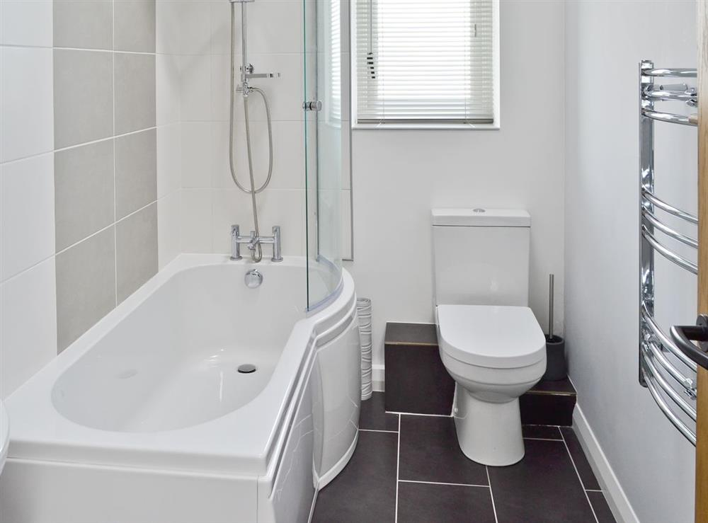 Bathroom at Cherry Tree Barn in Audlem, near Nantwich, Cheshire