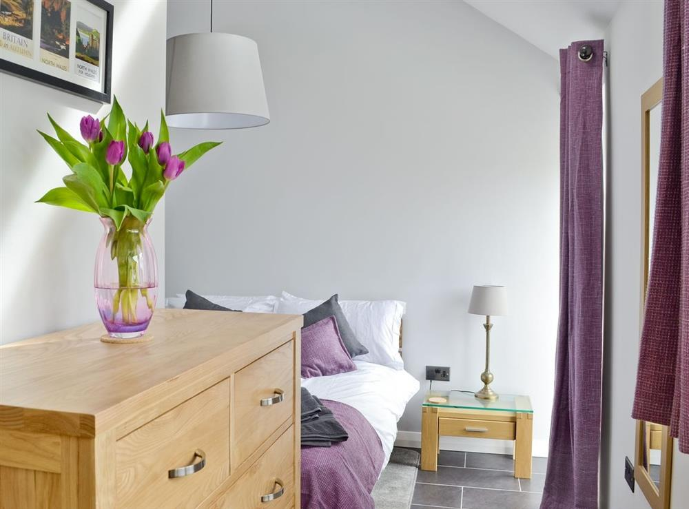 Double bedroom at Cherry Tree Barn in Audlem, near Nantwich, Cheshire