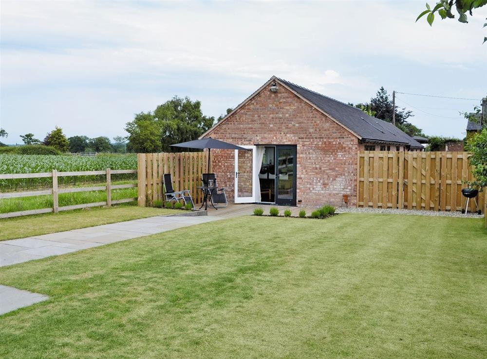 Exterior at Cherry Tree Barn in Audlem, near Nantwich, Cheshire