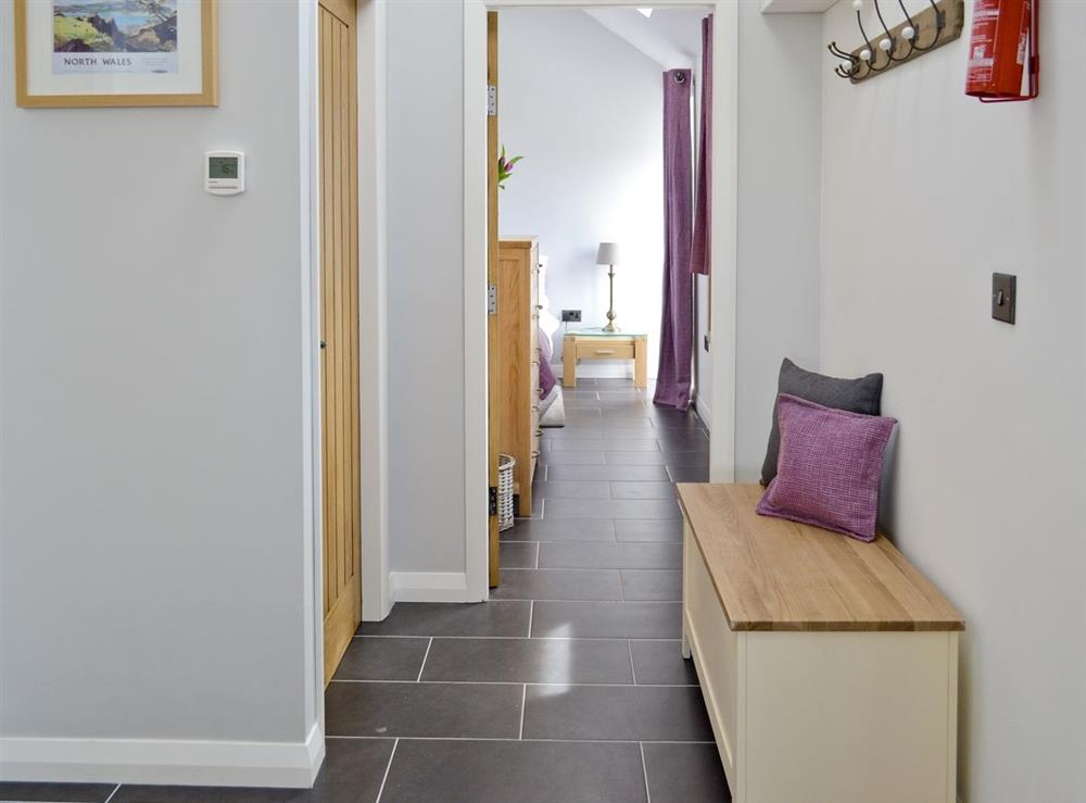 Looking towards bedrooms at Cherry Tree Barn in Audlem, near Nantwich, Cheshire