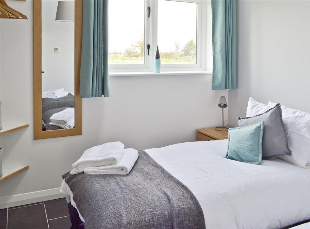 Twin bedroom at Cherry Tree Barn in Audlem, near Nantwich, Cheshire