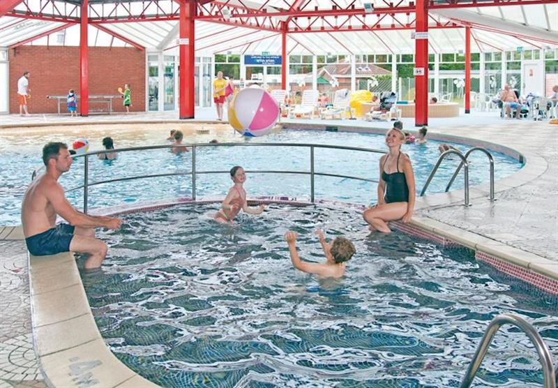 Indoor heated pool at Cherry Tree in Burgh Castle, Great Yarmouth
