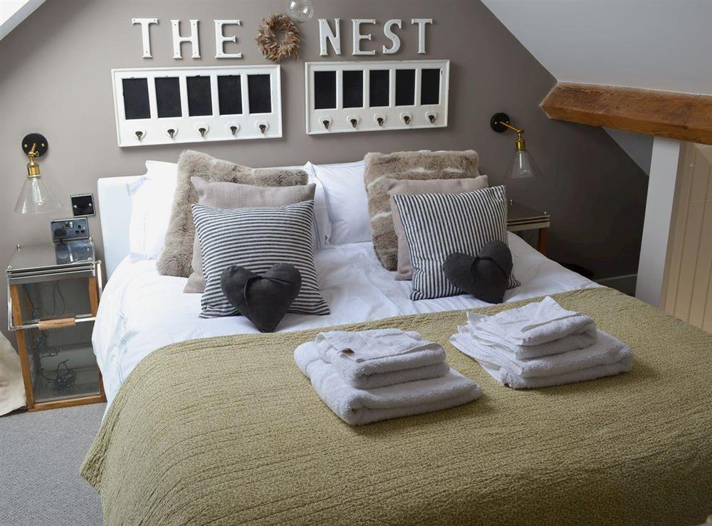 Bedroom at The Nest,