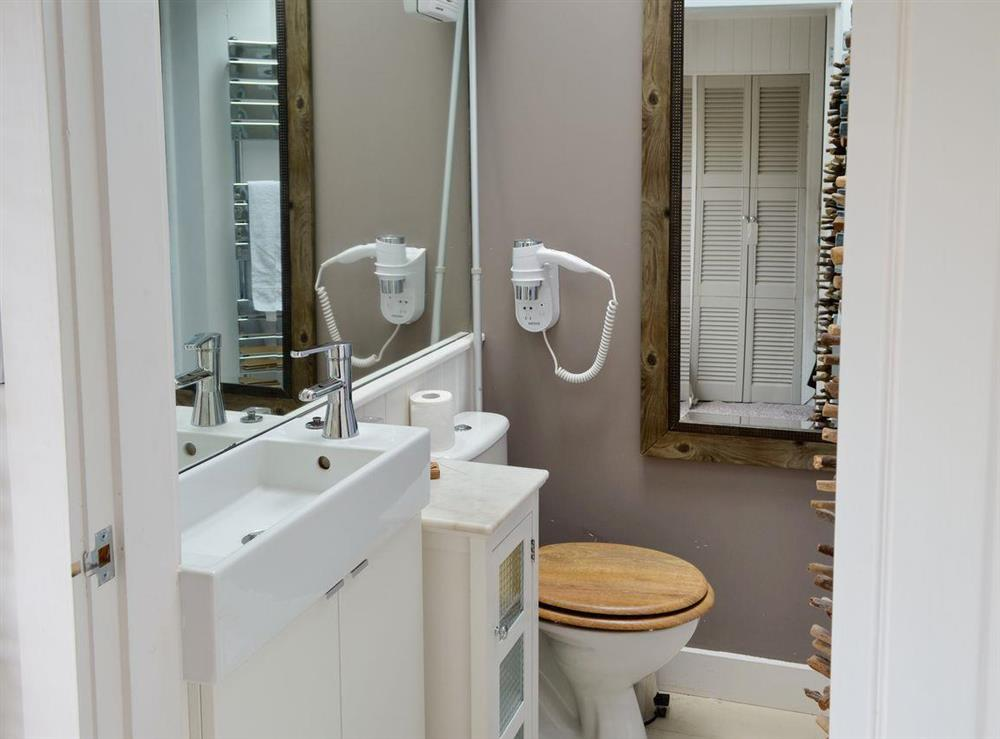 Shower room at The Nest,