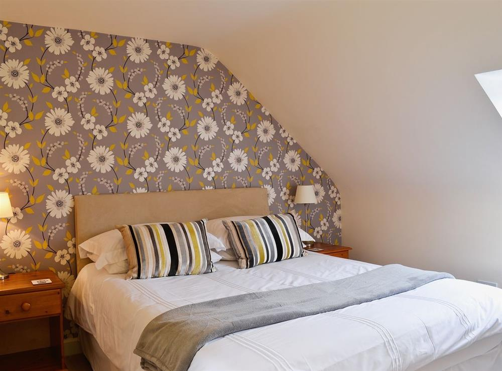 Double bedroom at Chestnut Cottage in Prestwick, Ayrshire