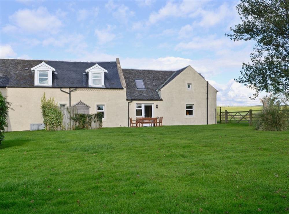 Garden at Chestnut Cottage in Prestwick, Ayrshire