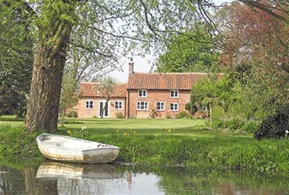 Exterior at Church Cottage in Burgh-next-Aylsham, Norfolk., Great Britain