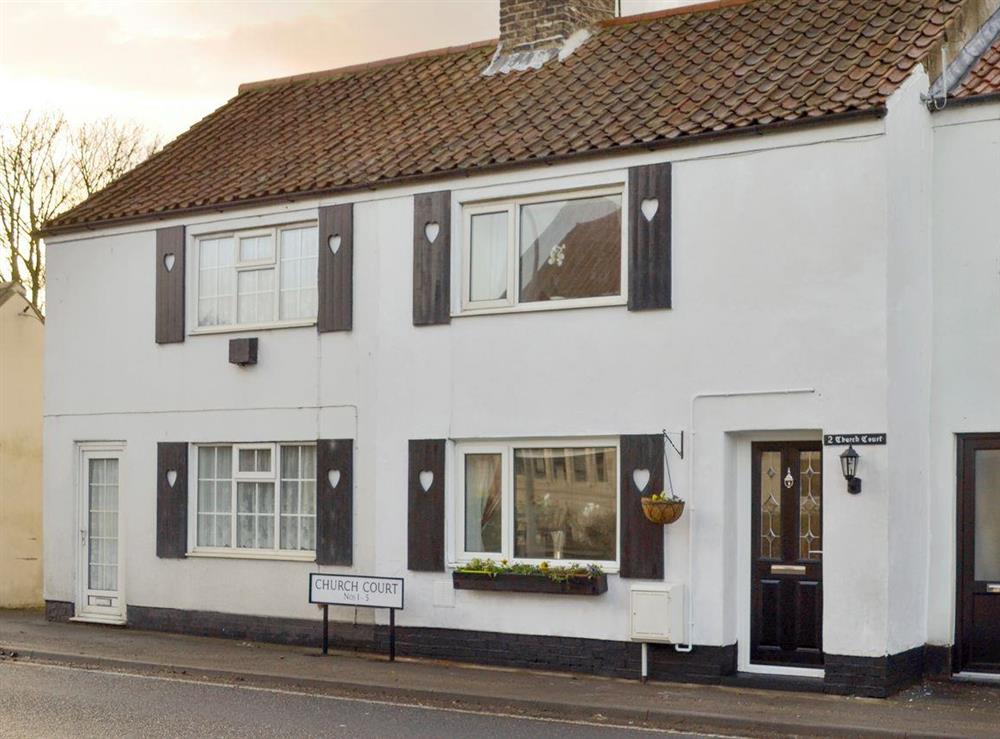 Charming holiday home at Church Court Cottage in Beeford, near Driffield, North Humberside