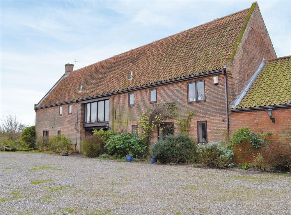 Exterior at Church Farm Barn,