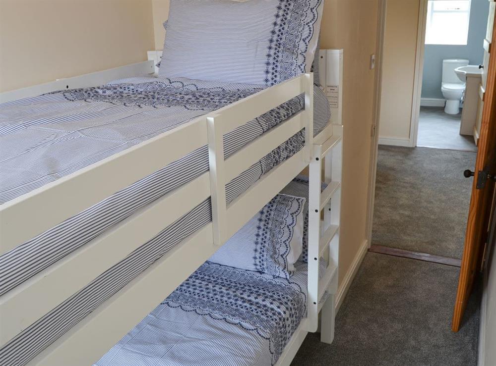 Bunk bedroom at Church Farm House in Sea Palling, near Stalham, Norfolk