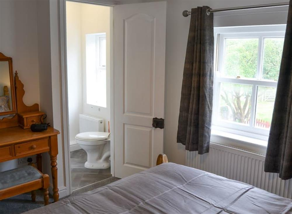 Double bedroom with en-suite at Church Farm House in Sea Palling, near Stalham, Norfolk