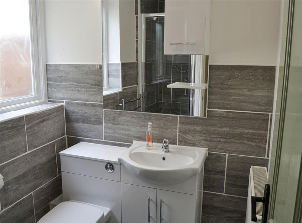 Shower room at Church Farm House in Sea Palling, near Stalham, Norfolk