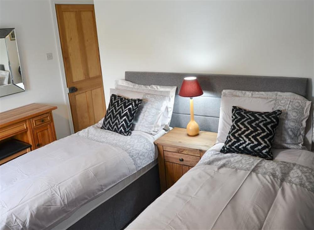 Twin bedroom at Church Farm House in Sea Palling, near Stalham, Norfolk
