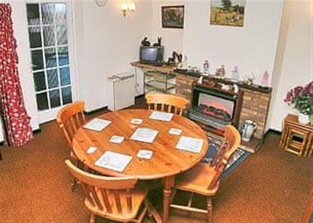Dining room at Church Hill Cottage in Billingford, near Dereham, Norfolk