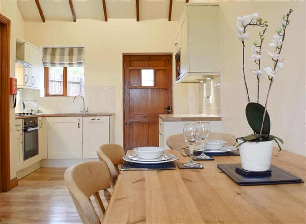 Delightful open plan living space at Church View in Harrington, Northamptonshire