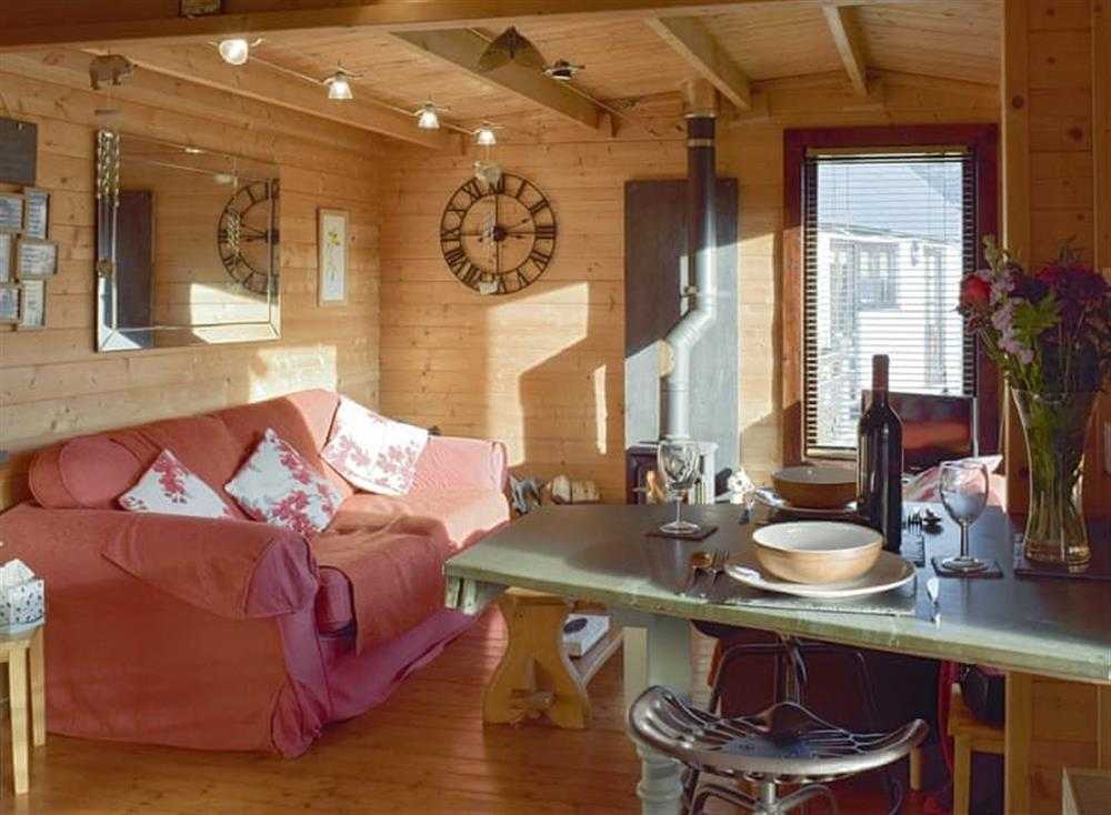 Convenient open-plan living space at The Lodge,
