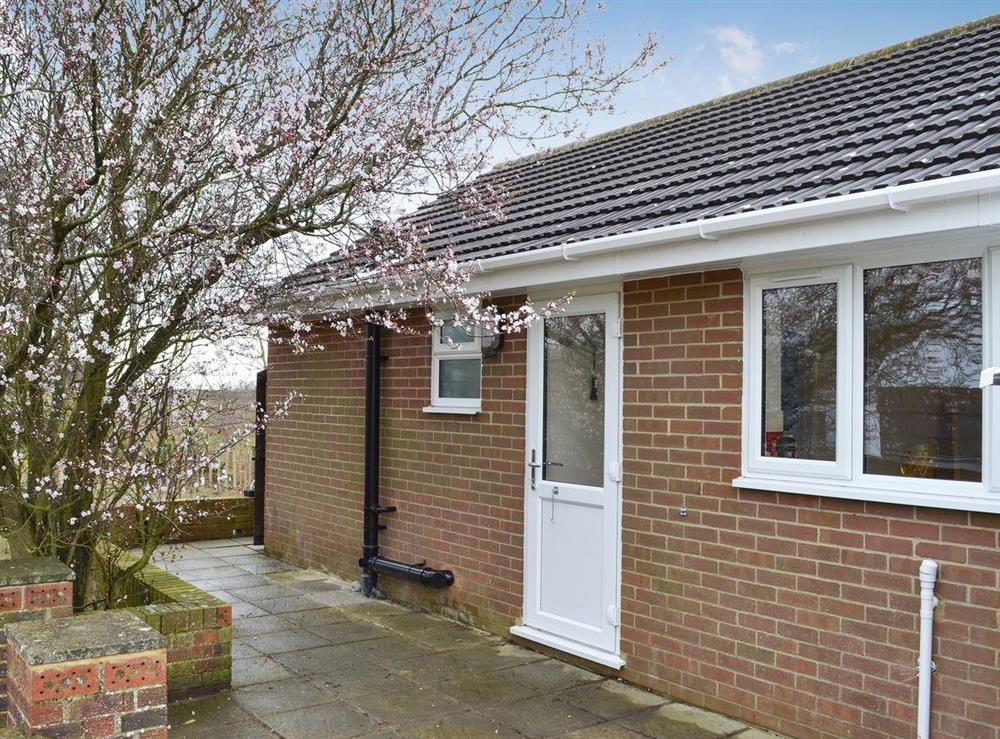 Quaint, detached bungalow at Church View in West Hythe, near Hythe, Kent
