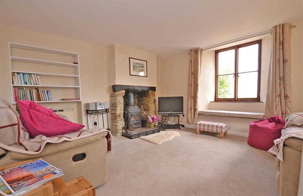 The light and bright lounge at Churchgate House, Blackawton