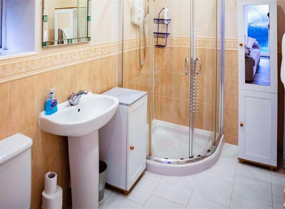 Bathroom at Cladda House in Dartmouth, Devon