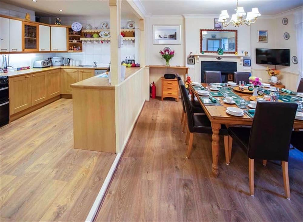 Kitchen/diner (photo 2) at Cladda House in Dartmouth, Devon