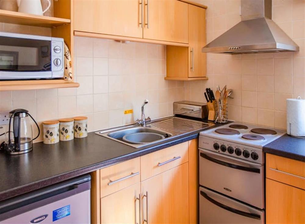 Kitchen at Cladda House in Dartmouth, Devon