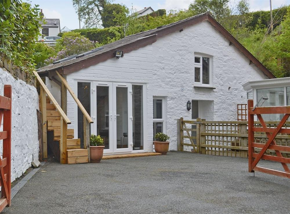 Exterior at Clam Cottage in Amroth, near Saundersfoot, Dyfed
