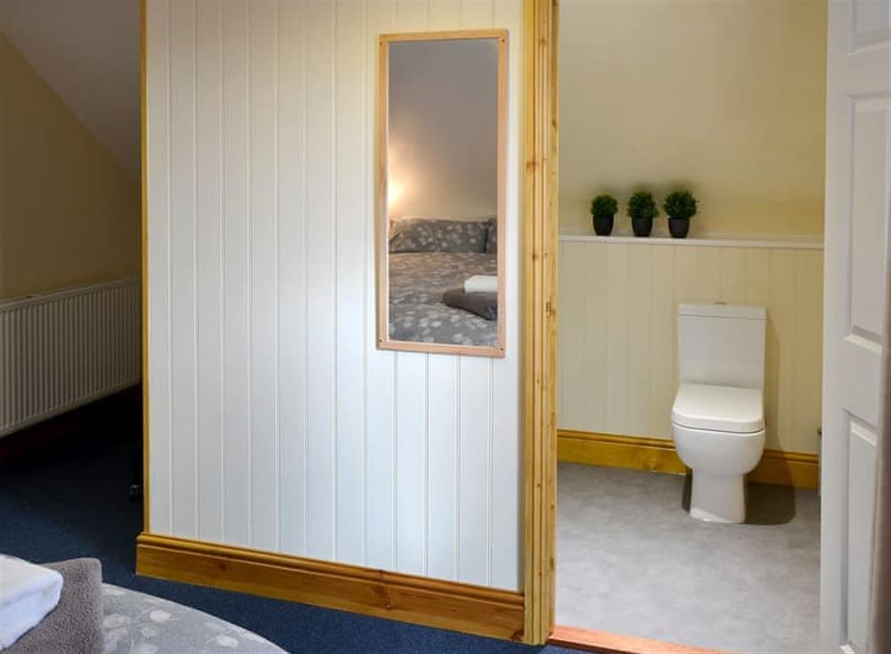En-suite shower room at Clamp Farm Barn 2 in Stowmarket, Suffolk
