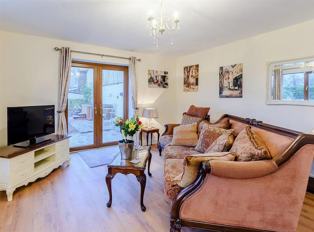 Living room at Hayloft,
