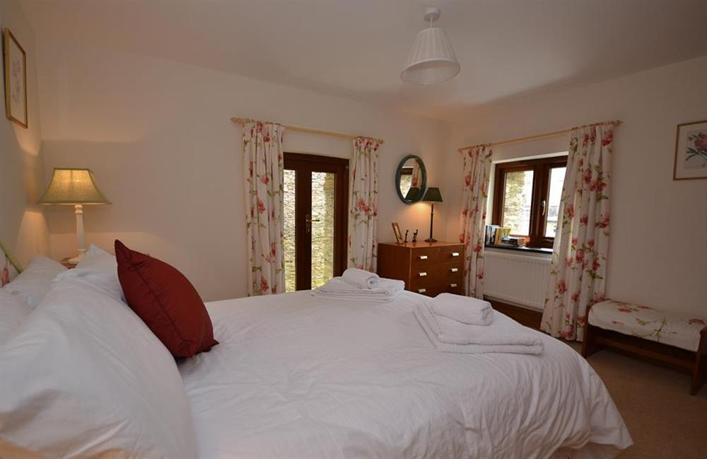 Another view of the double bedroom at Clarence Cottage, Stoke Fleming