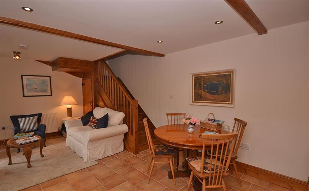 Another view of the living room at Clarence Cottage, Stoke Fleming