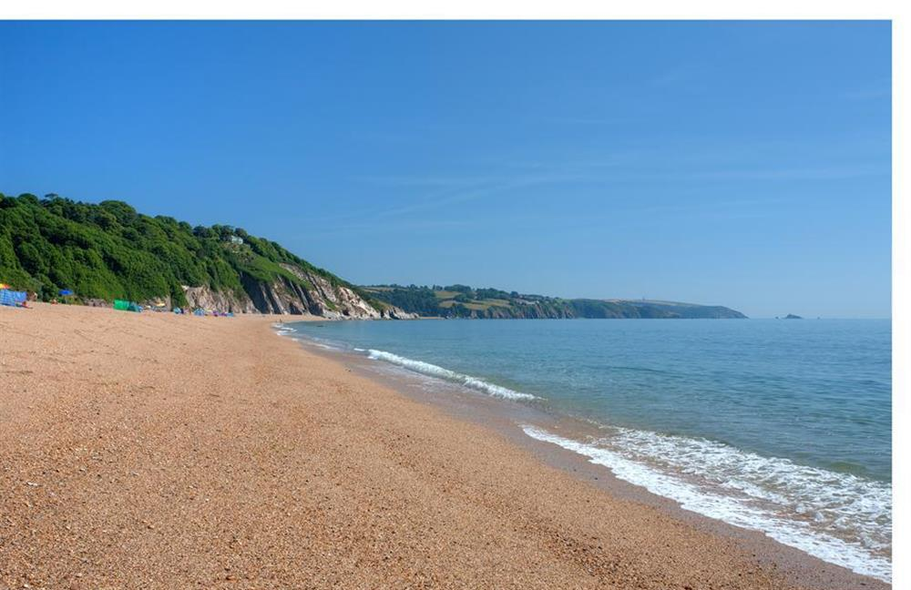 Nearby Blackpool Sands at Clarence Cottage, Stoke Fleming