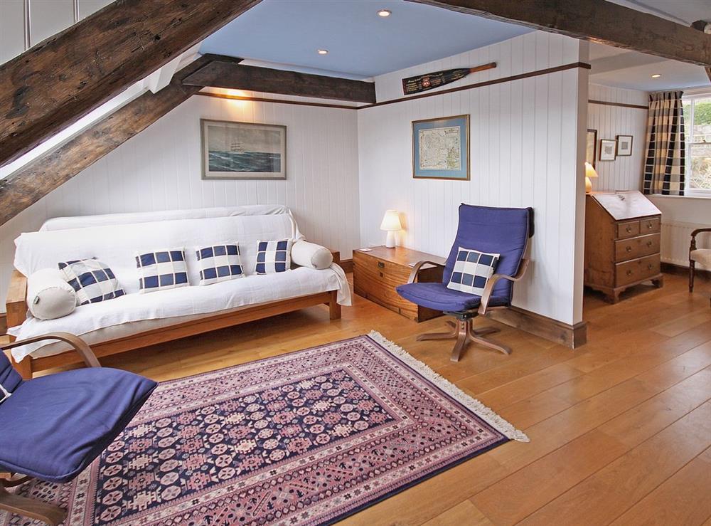 Attic Room at Clarence Street 36 in Dartmouth, Devon