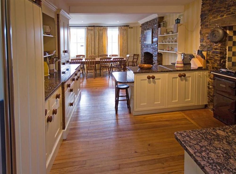 Dining Room/Kitchen at Clarence Street 36 in Dartmouth, Devon