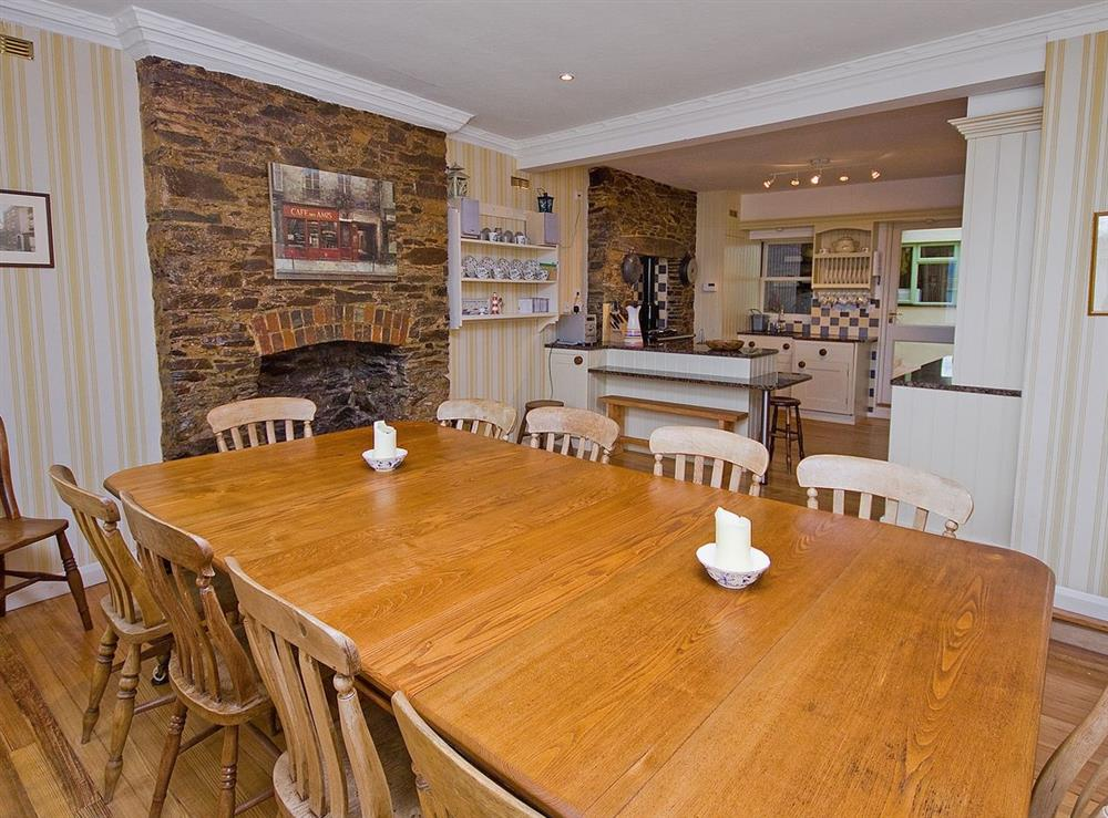 Dining Room at Clarence Street 36 in Dartmouth, Devon