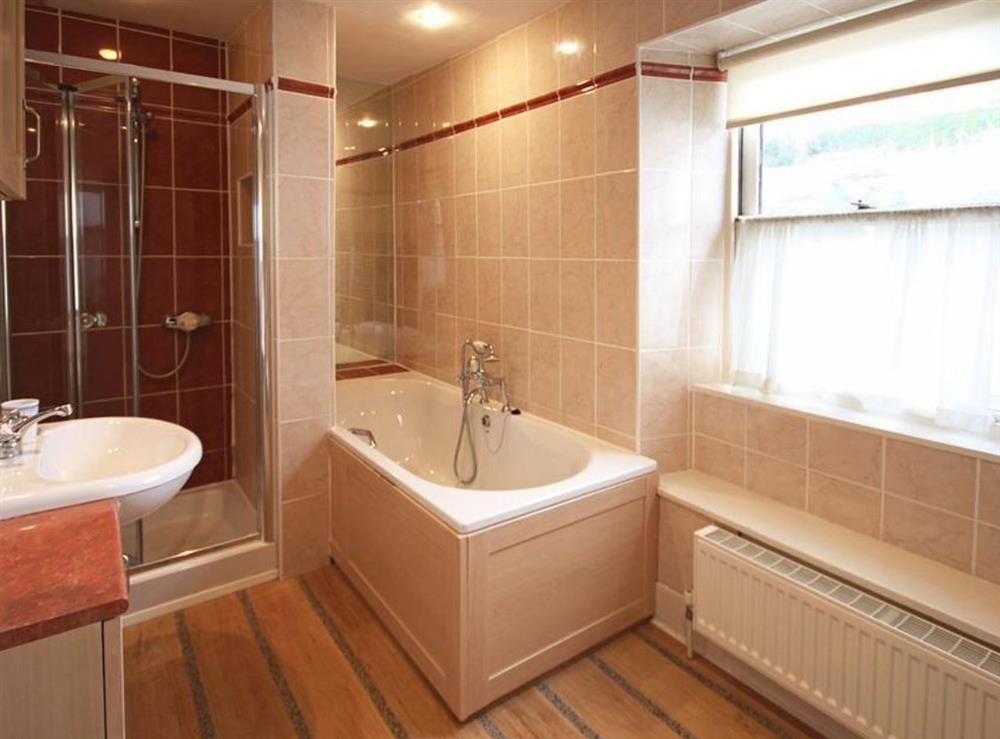 Family Bathroom at Clarence Street 36 in Dartmouth, Devon