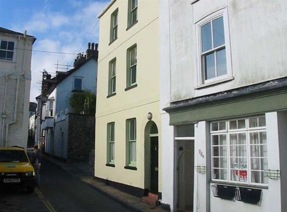 Road view of 36 Clarence Street at Clarence Street 36 in Dartmouth, Devon