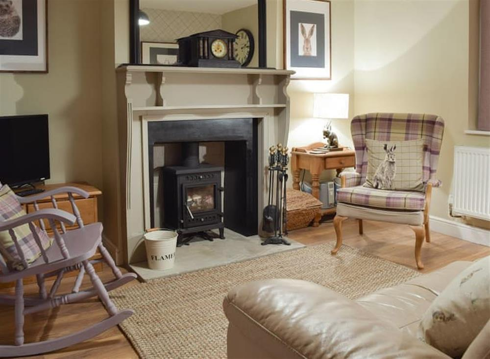 Welcoming living room at Clickers Cottage in Ringstead, near Thrapston, Northamptonshire