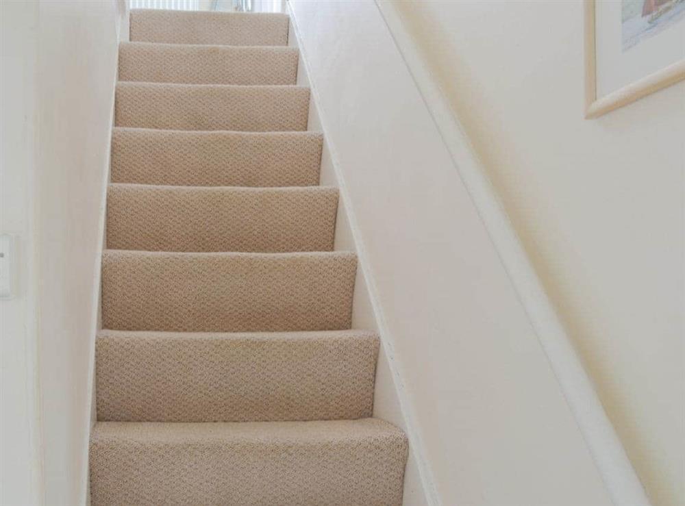 Stairs at Cliff Cottage in Brixham, Devon