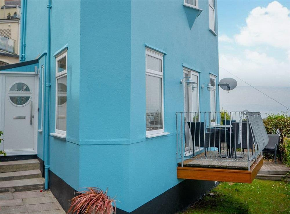 Wonderful holiday home in a raised location at Cliff Cottage in Brixham, Devon
