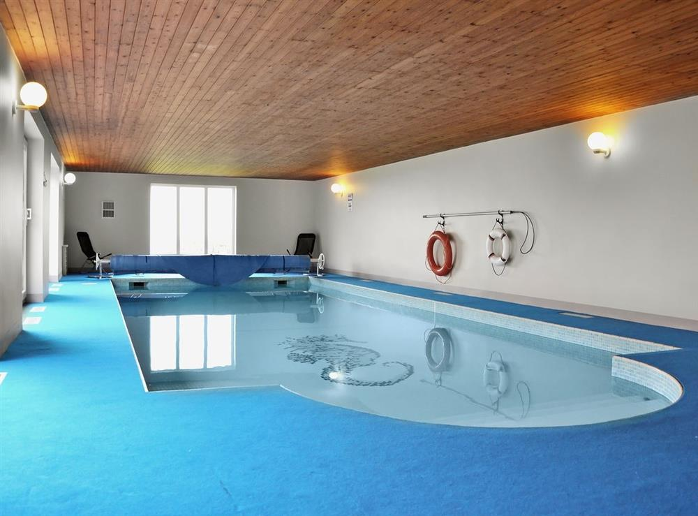 Swimming pool at Cliff Cottage in Mundesley, Norfolk., Great Britain