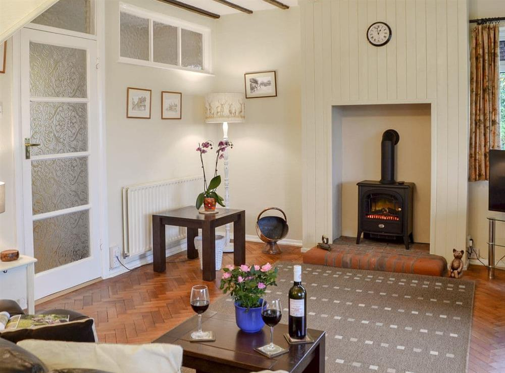 Comfortable living room at Clip Clops in Findon, near Worthing, West Sussex