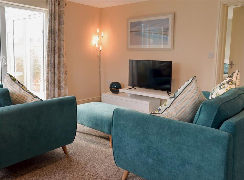 Living area at Clipper Schooner in Great Yarmouth, Norfolk