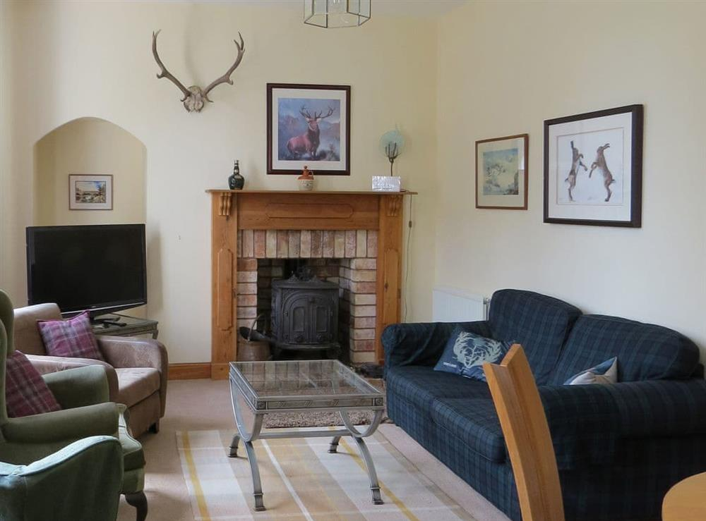 Living room/dining room at Cloud Cottage in Duns, Berwickshire