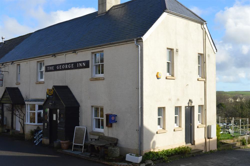Blackawton local pub - The George Inn at Clover in Blackawton, Dartmouth