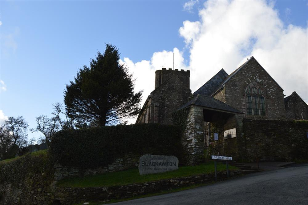 Blackawton village Church at Clover in Blackawton, Dartmouth