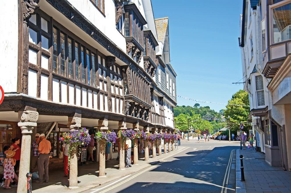 Explore the lovely shops in the nearby town of Dartmouth at Clover in Blackawton, Dartmouth
