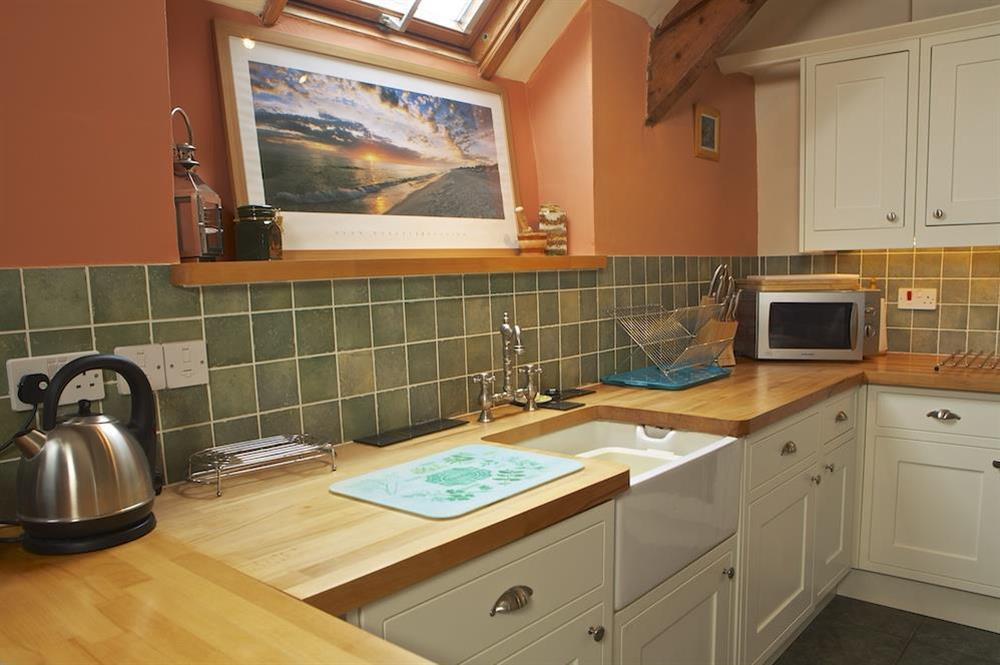 Kitchen at Clover in Blackawton, Dartmouth