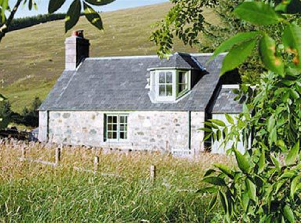 Exterior at Clover Cottage in Glenisla, Blairgowrie., Perthshire