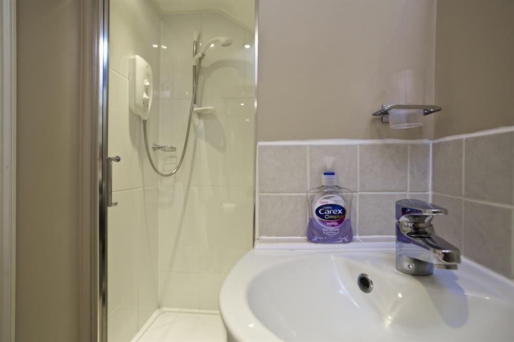 Shower room at Cloverwell in , Nr Kingsbridge